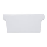 Nantucket Sinks 35.5 Inch Rectangular Italian Fireclay Vessel Sink