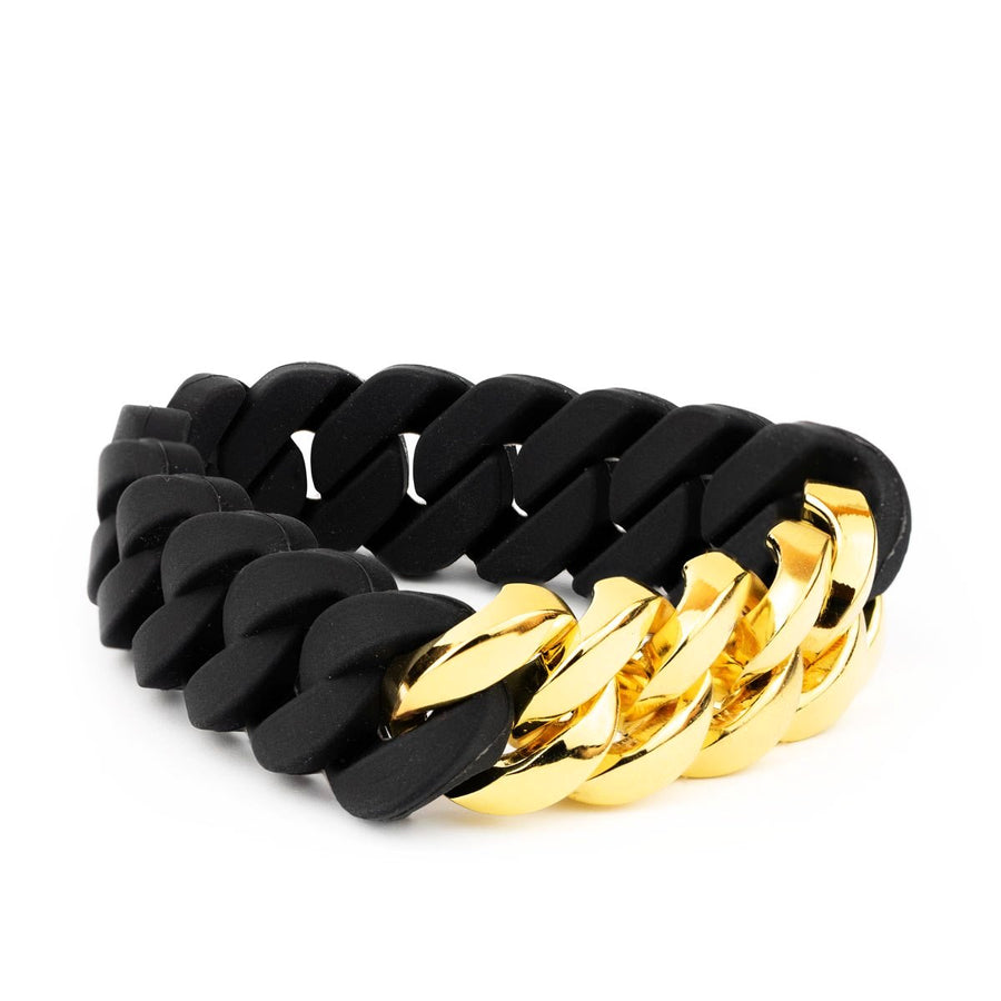Gold X Rubber Chain XL