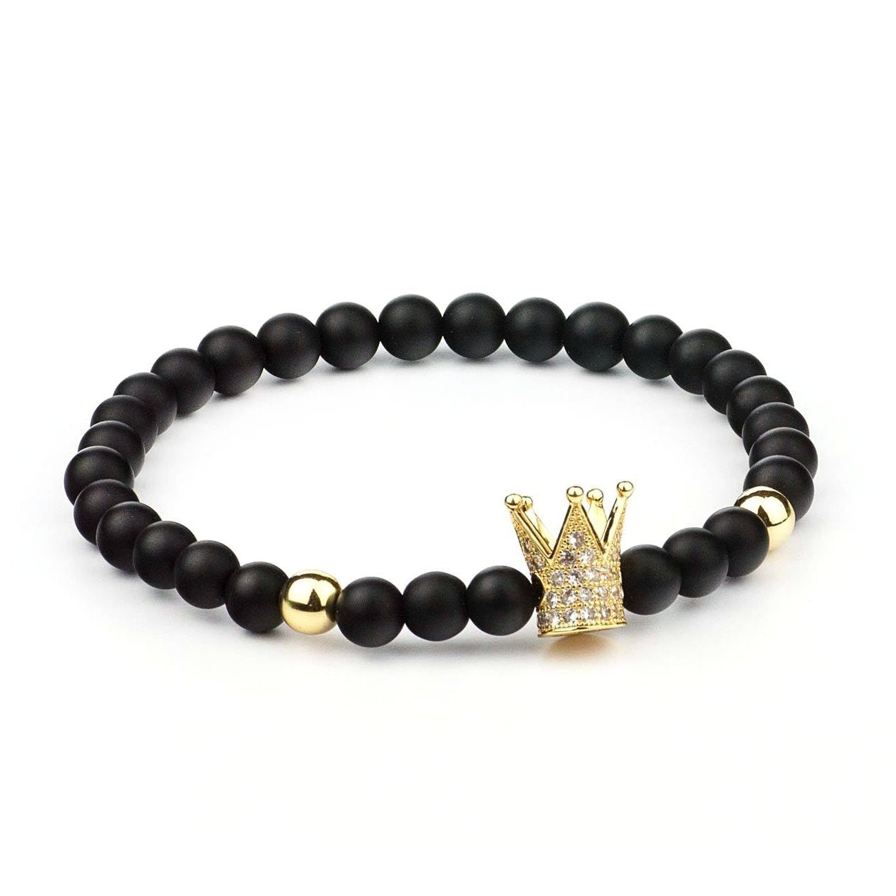 Twin Ball Crown Bracelet