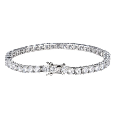 White Ice Tennis Bracelet