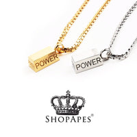 Power Brick Necklace - ShopApes