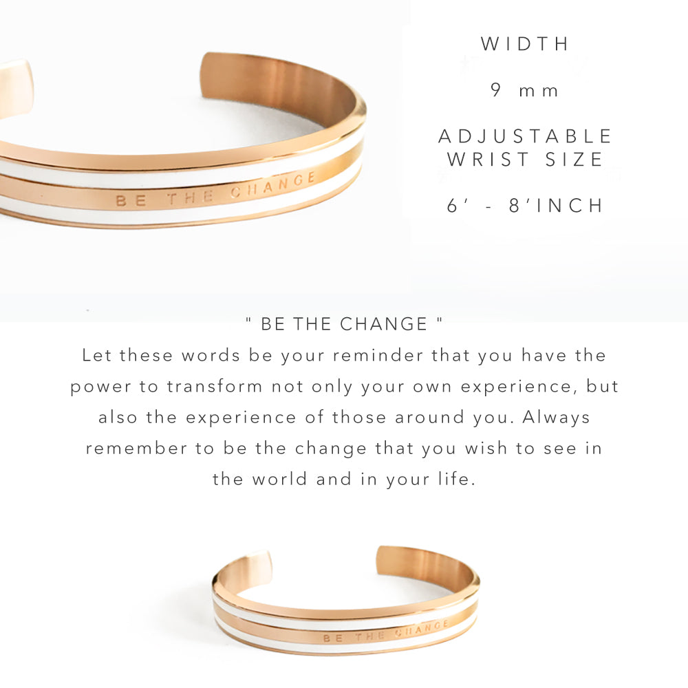 Be The Change Cuff