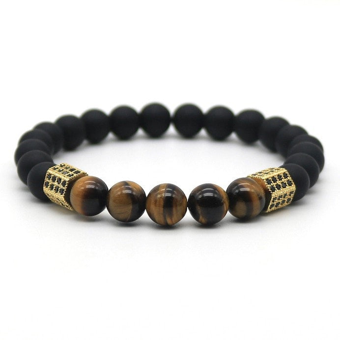 Tiger Power Hexagon Bracelet - ShopApes