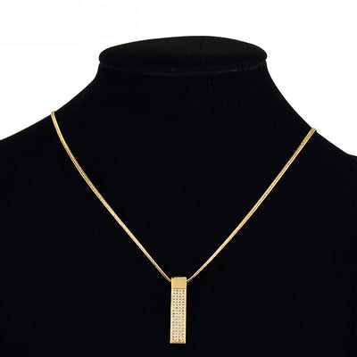 Golden Tag Necklaces