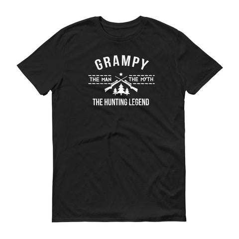 Grampy - The Man, the Myth, the Hunting Legend T-Shirt