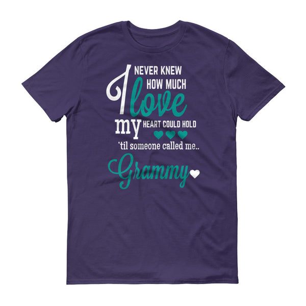 I Never Knew How Much Love My Heart Could Hold 'til Someone Called me Grammy T-Shirt