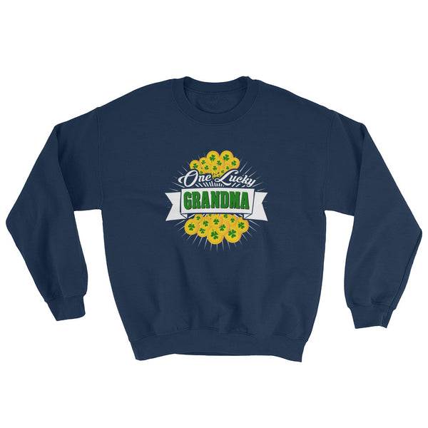 St Patrick's Day One Lucky Grandma Sweatshirt