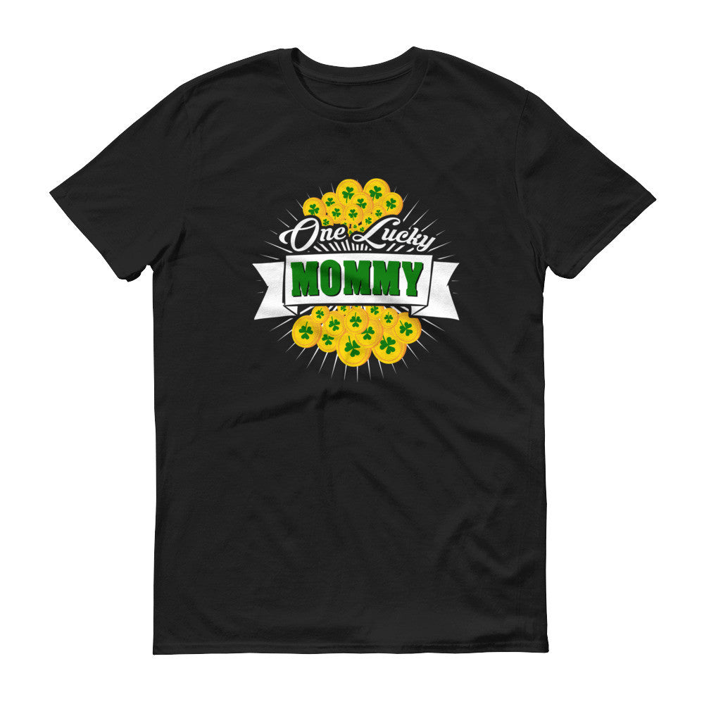 Women's Fit - St Patrick's Day One Lucky Mommy T-Shirt