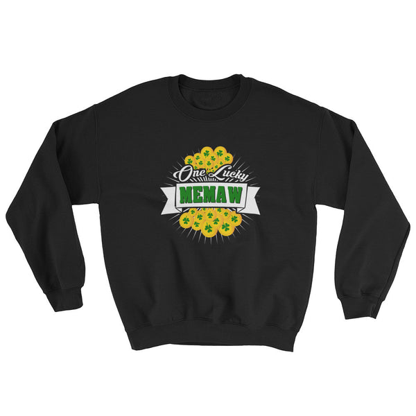 St Patrick's Day One Lucky Memaw Sweatshirt