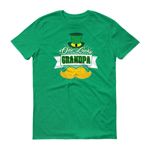 St Patrick's Day One Lucky Grandpa T-Shirt