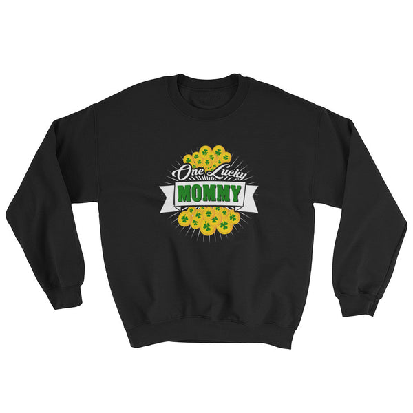 St Patrick's Day One Lucky Mommy Sweatshirt