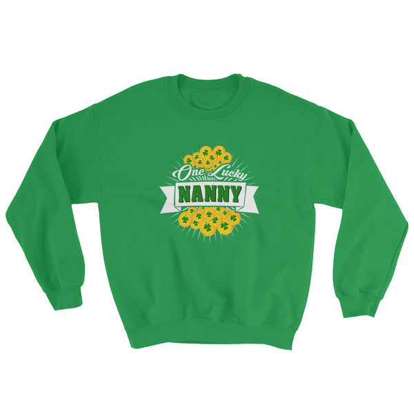 St Patrick's Day One Lucky Nanny Sweatshirt