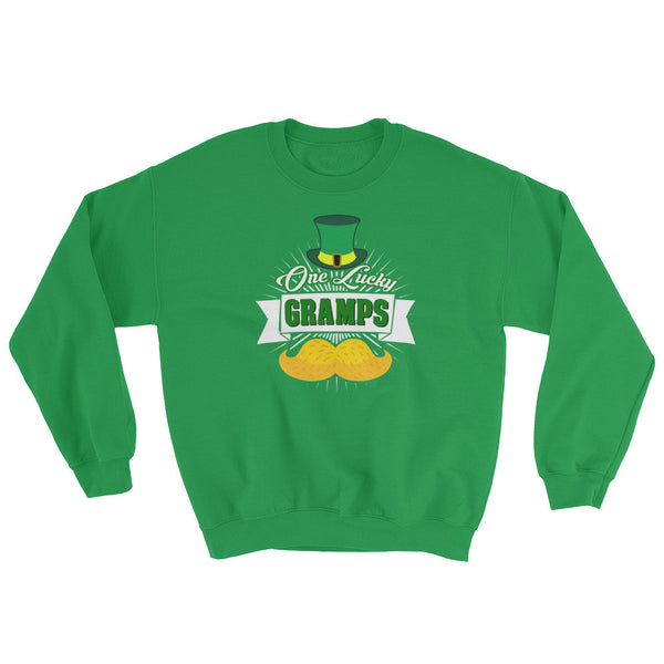 St Patrick's Day One Luck Gramps Sweatshirt