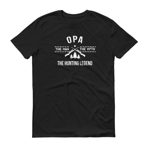 Opa - The Man, the Myth, the Hunting Legend T-Shirt