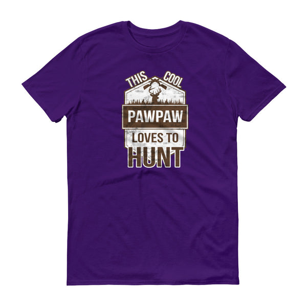 This Cool PawPaw Loves To Hunt T-Shirt