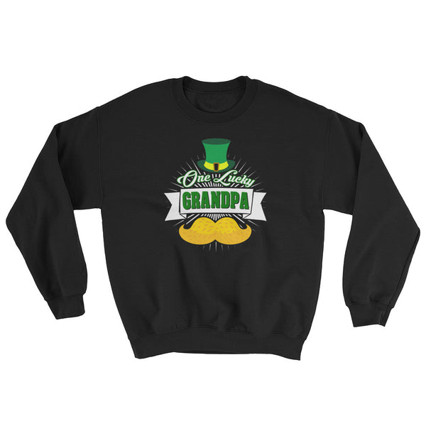 St Patrick's Day One Luck Grandpa Sweatshirt
