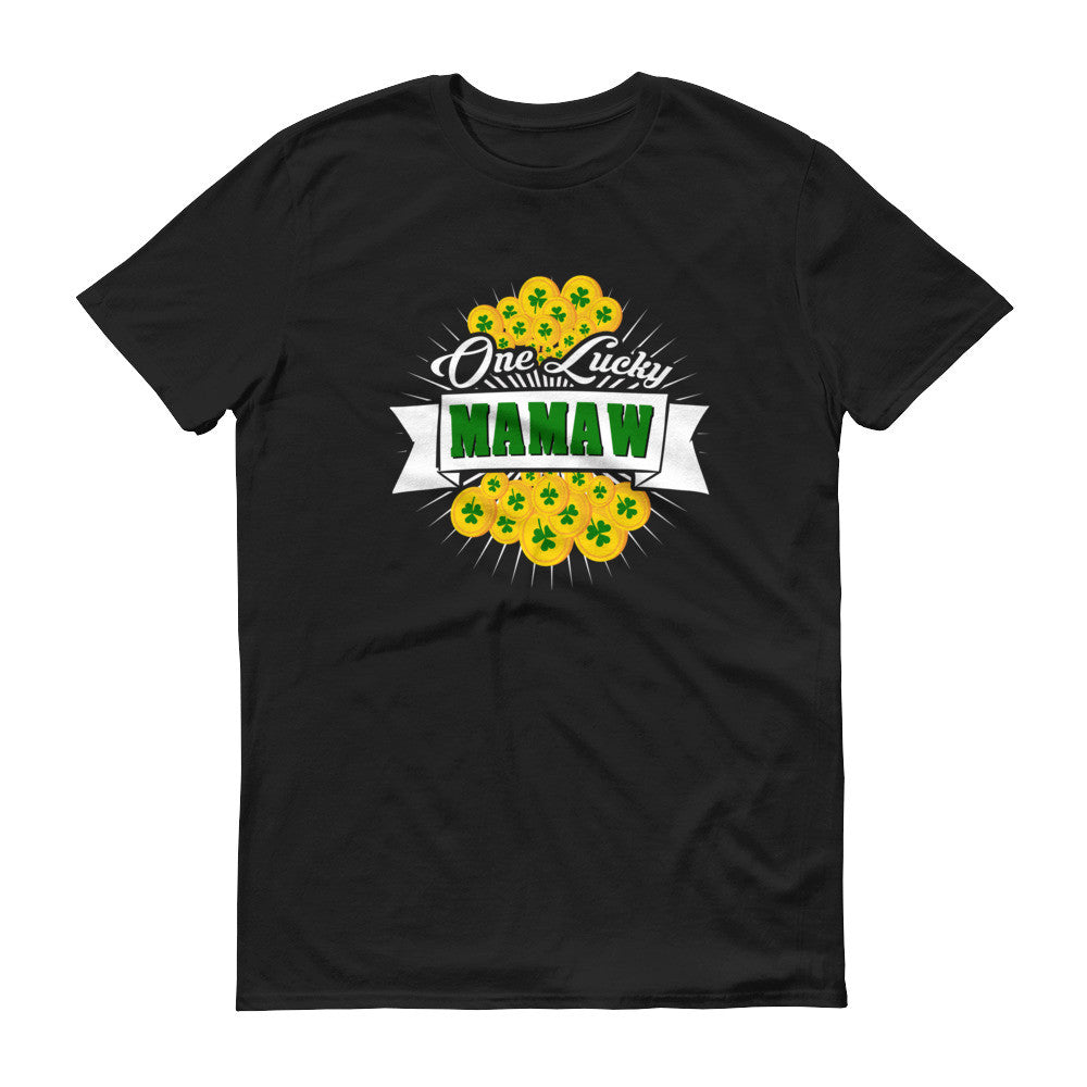 Women's Fit - St Patrick's Day One Lucky Mamaw T-Shirt