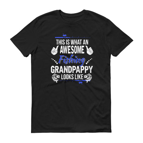 This is what an awesome fishing grandpappy looks like shirt