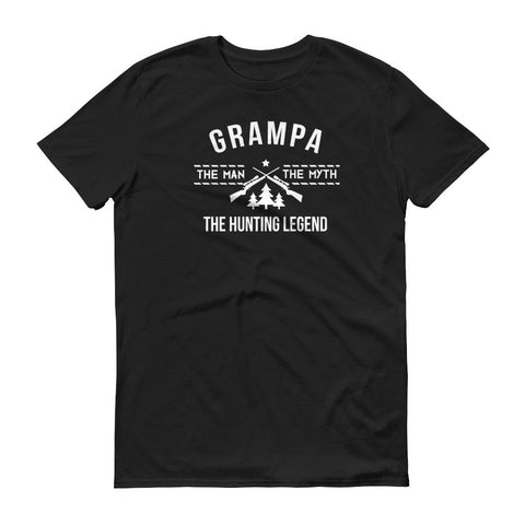 Grampa - The Man, the Myth, the Hunting Legend T-Shirt