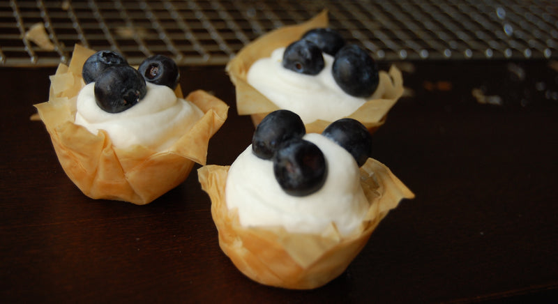 Goodbye Monday Blues: Hello Mini Blueberry Tarts