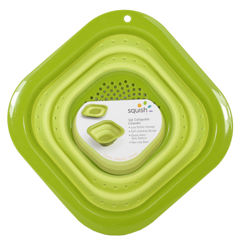 Large Square Collapsible Colander