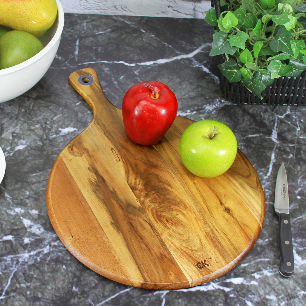 Round Wooden Serving Board