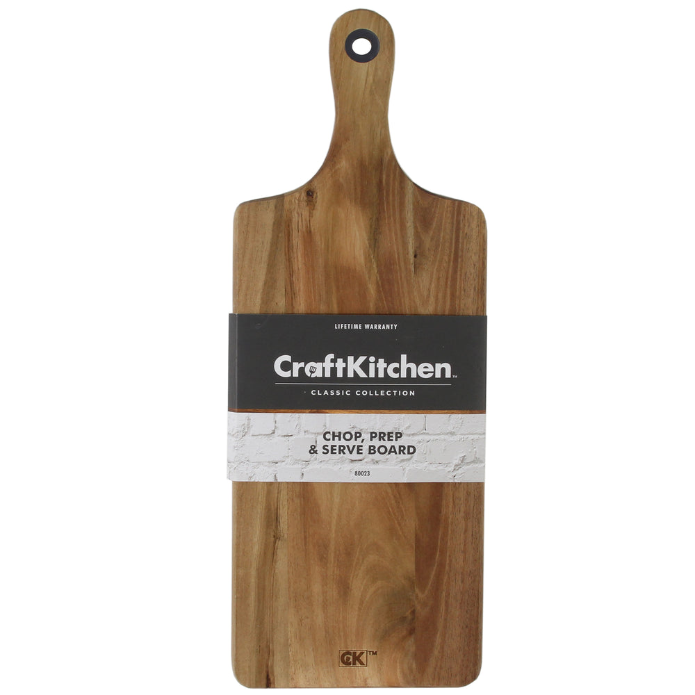 Craft Kitchen™ Wooden Serving Board