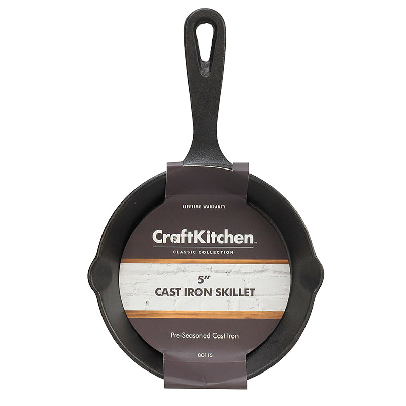 Load image into Gallery viewer, Craft Kitchen™ Mini Cast Iron Skillet 13cm