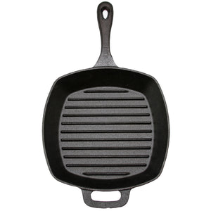 Craft Kitchen™ Cast Iron Square Grill Pan 26cm