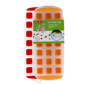 Zing!® Set of 2 Ice Cube Tray