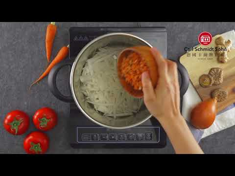 Load and play video in Gallery viewer, ADELAIDE High Speed Pressure Cooker 4L