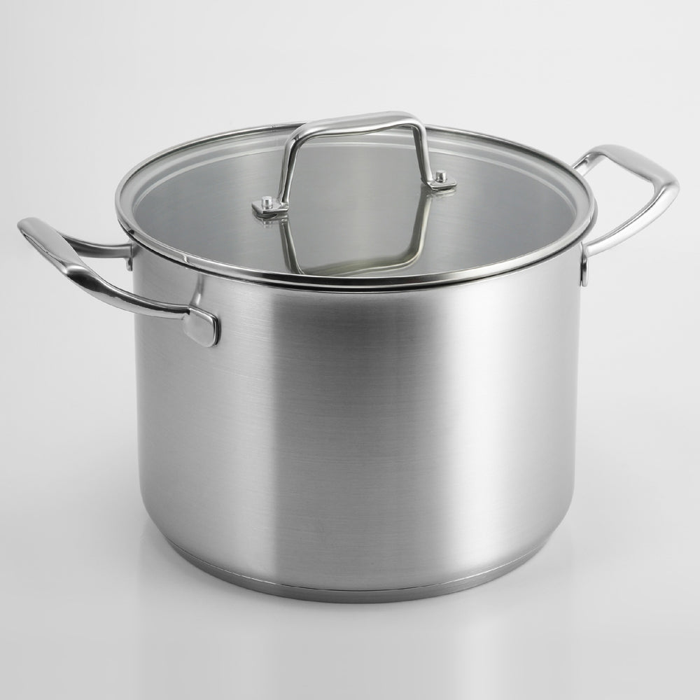 PRO-X 9L Stockpot 24 cm with Lid and Basket