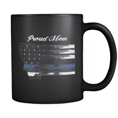 Image of Black 11oz Mug Montana