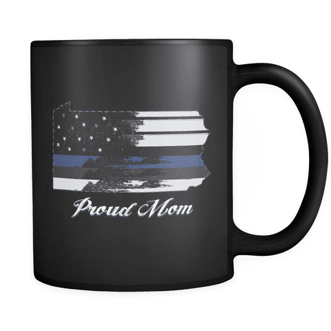 Image of Black 11oz Mug Pennsylvania