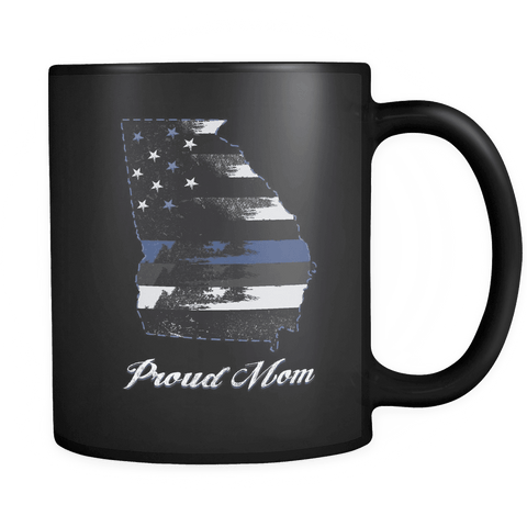 Image of Black 11oz Mug Georgia