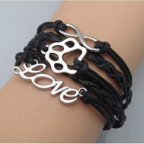 Image of Braided Puppy Love Bracelet