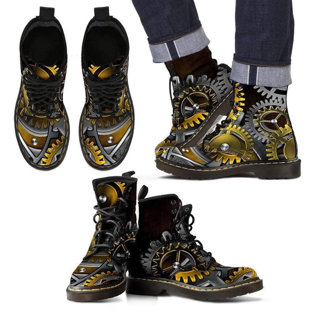 Time Traveler - Handcrafted Steampunk Boots