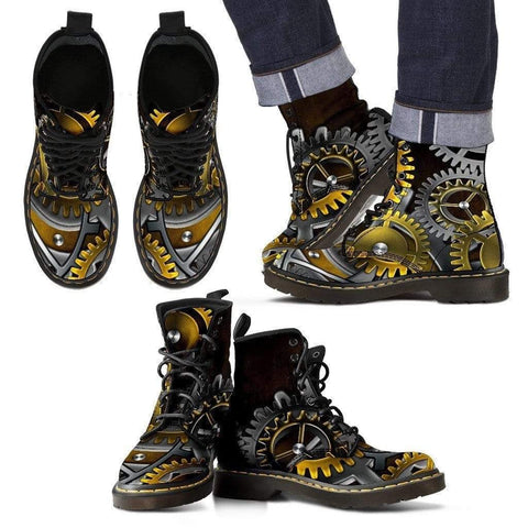 Image of Time Traveler - Handcrafted Steampunk Boots