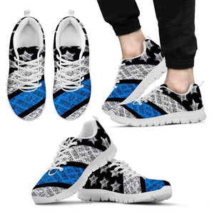 Thin Blue Line Mens Sneakers.
