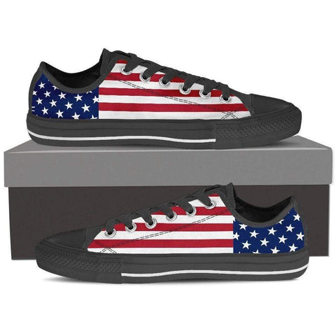 Image of Rugged Patriot - USA Pride Low Top Sneakers