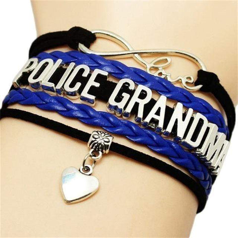 Image of POLICE Braided Leather Bracelets
