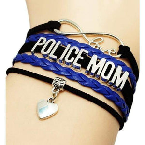 POLICE Braided Leather Bracelets