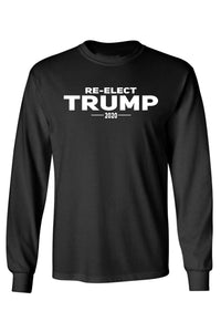 Unisex Re-Elect Trump 2020 Long Sleeve Shirt