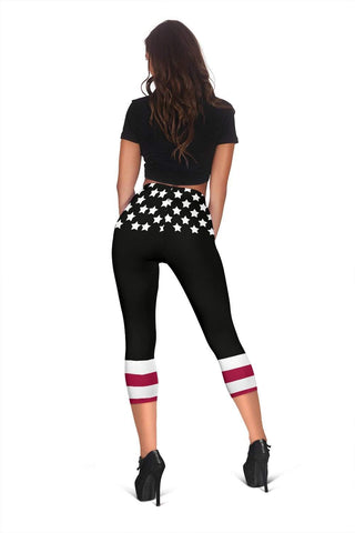 Dispatcher Capris Leggings -  Dark Slate