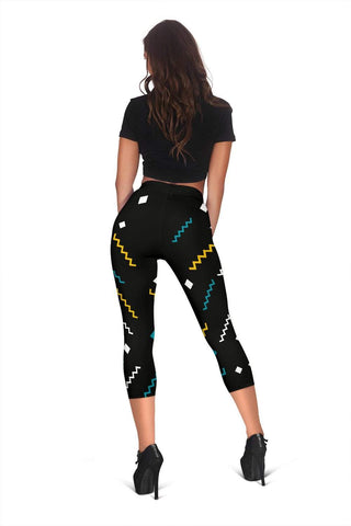 Dispatcher Capris Leggings -  Nero