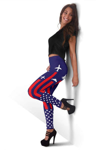Air Force Full Length Leggings - Paris M