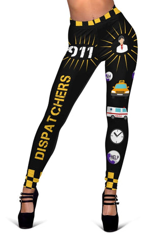 Dispatcher Full Length Leggings - Black