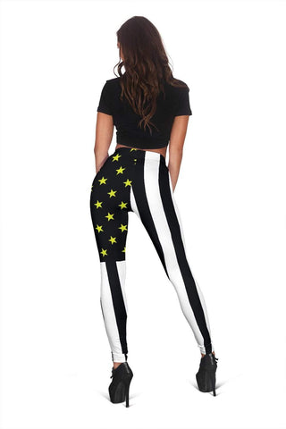 Dispatcher Full Length Leggings - Black & White