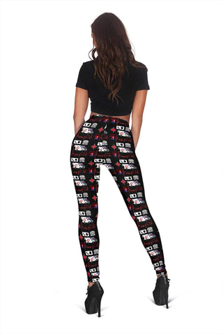 EMT EMT Full Length Leggings - Venetian Red
