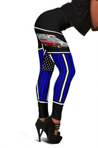 EMT Full Length Leggings - Blue